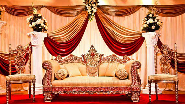 South Indian Wedding Decoration Ideas Wedding stages Pinterest.